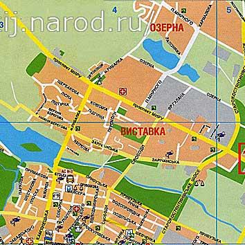 карта хмельницкого карта